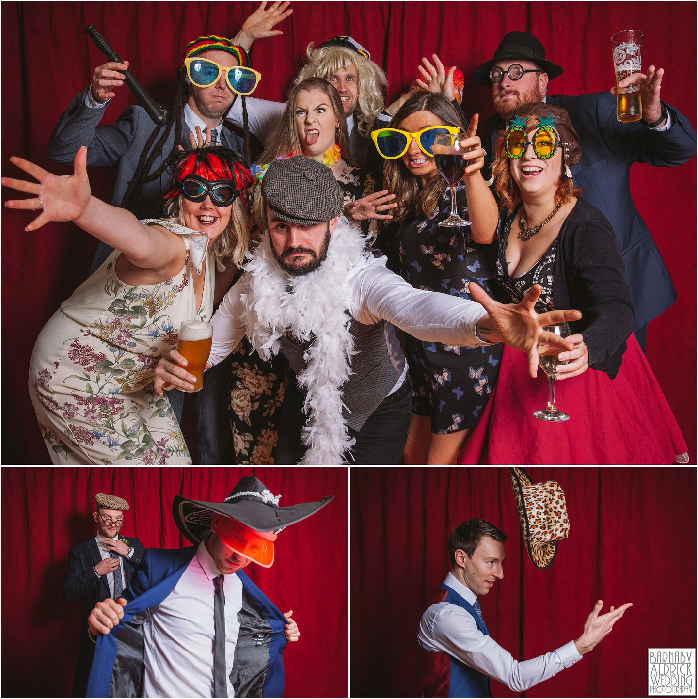Standedge Tunnel wedding Photobooth
