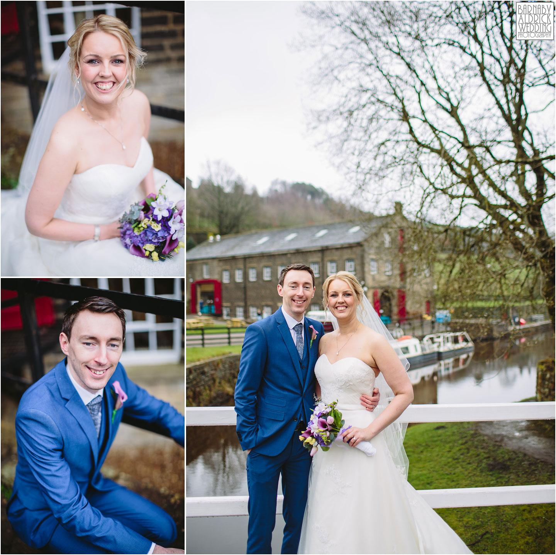Wedding Portraits at Standedge Tunnel wedding in Marsden