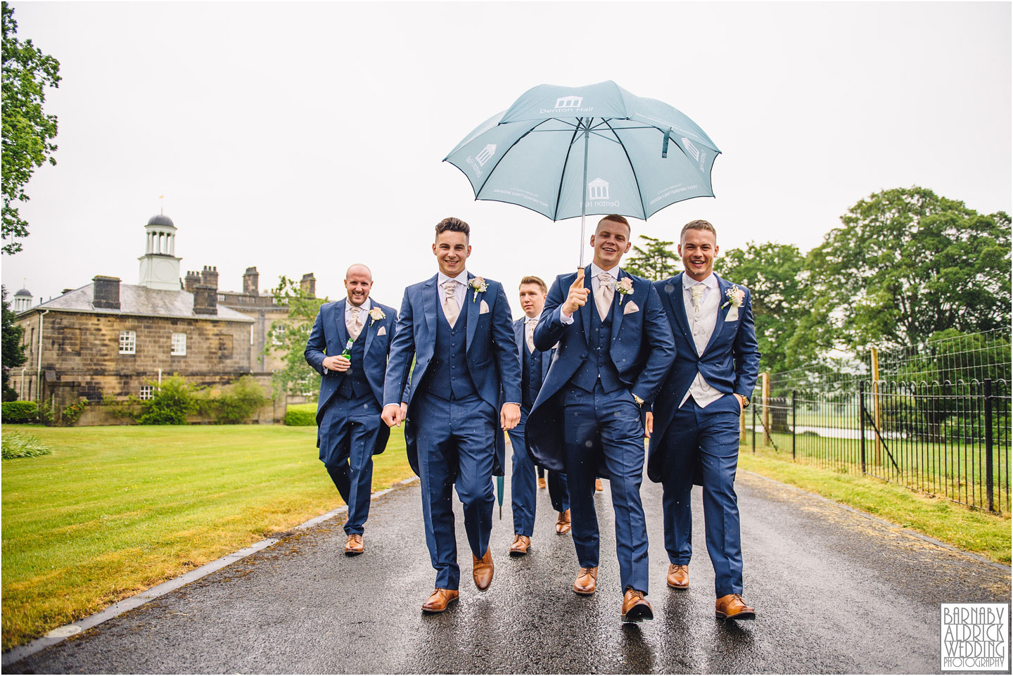 Denton Hall Wedding Photography, Wedding photos at Denton Hall in Yorkshire, Ilkley Wedding Photographer