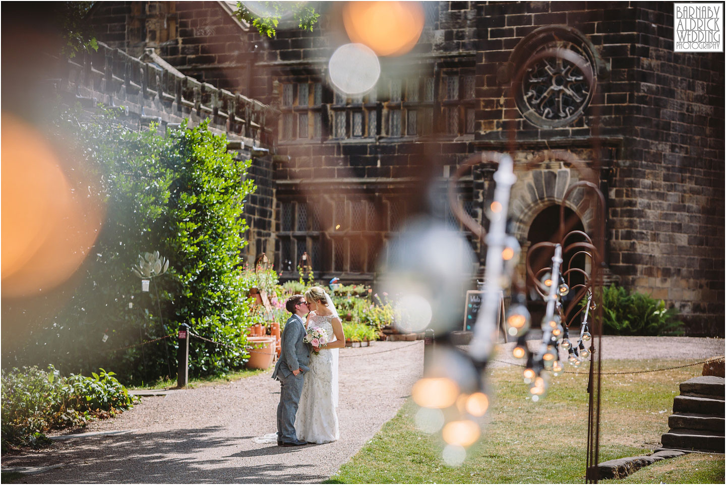 Gay wedding photography at East Riddlesden Hall in Yorkshire