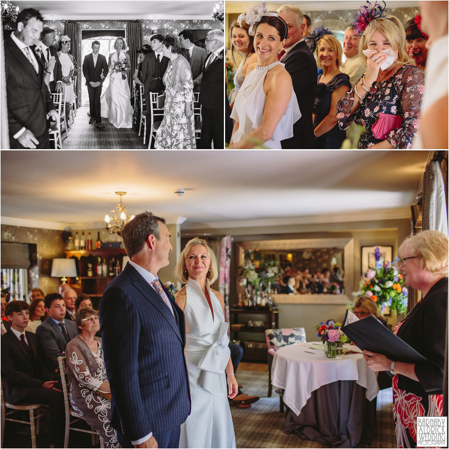 Wedding photos at The pheasant hotel in Harome in North Yorkshire