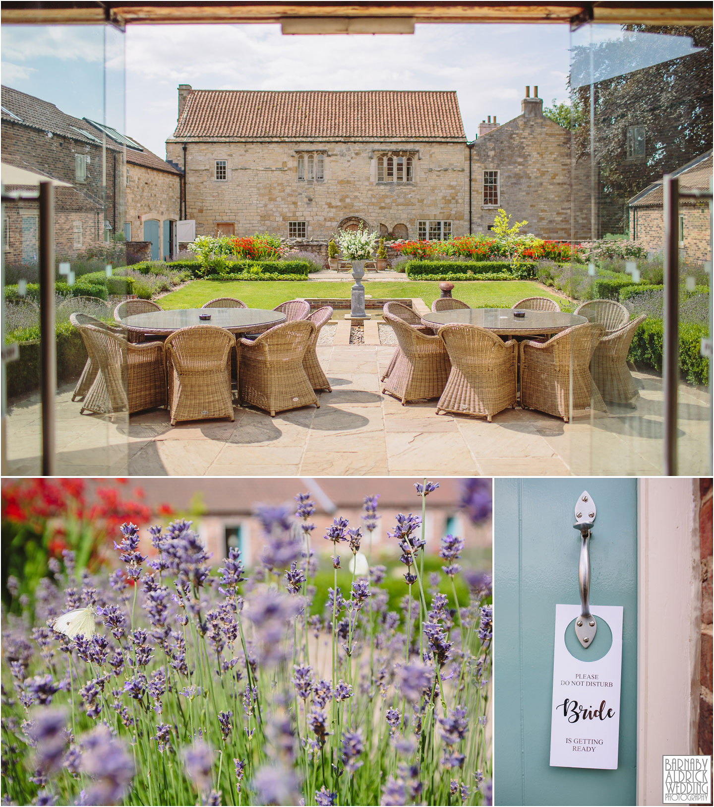 Priory Cottages barn venue near Wetherby in Yorkshire