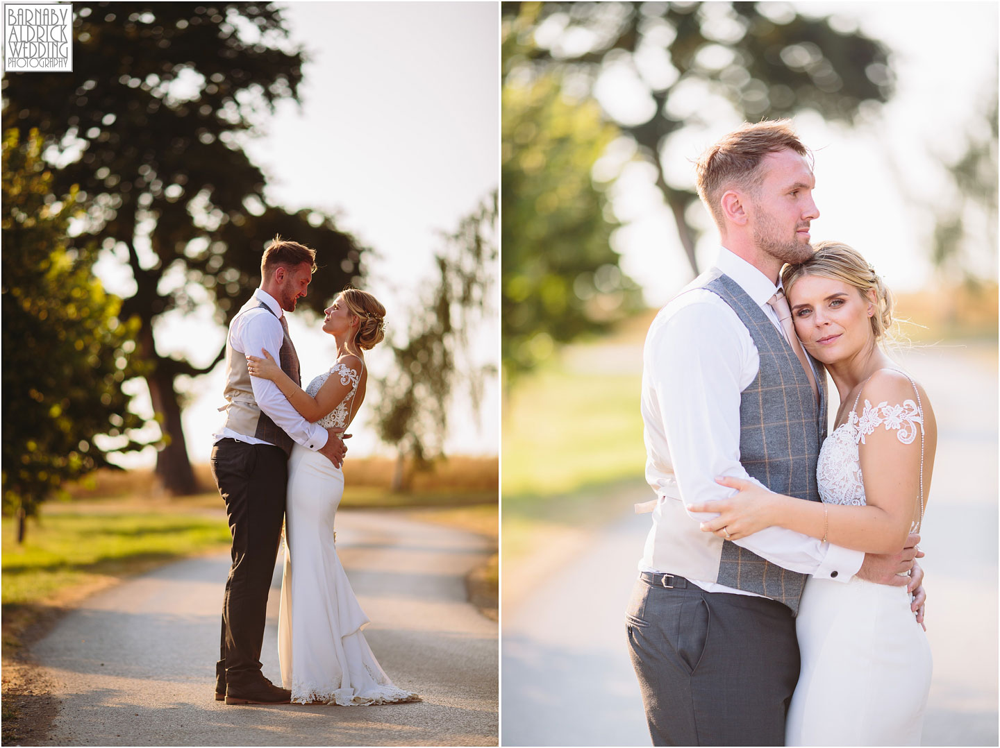 Wedding photography at Priory Cottages near Wetherby in Yorkshire