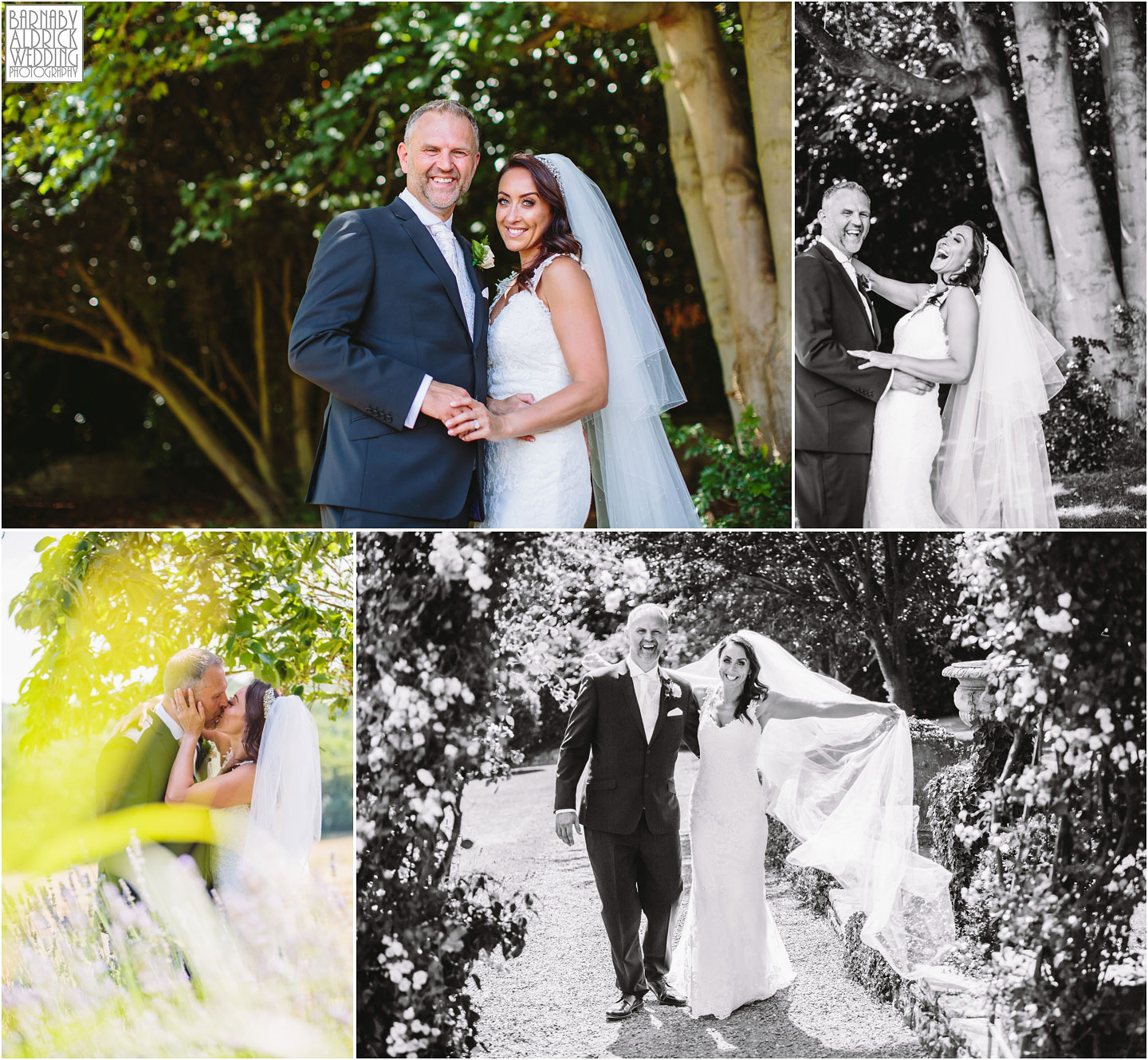 Wedding photography portraits at Wood Hall near Wetherby