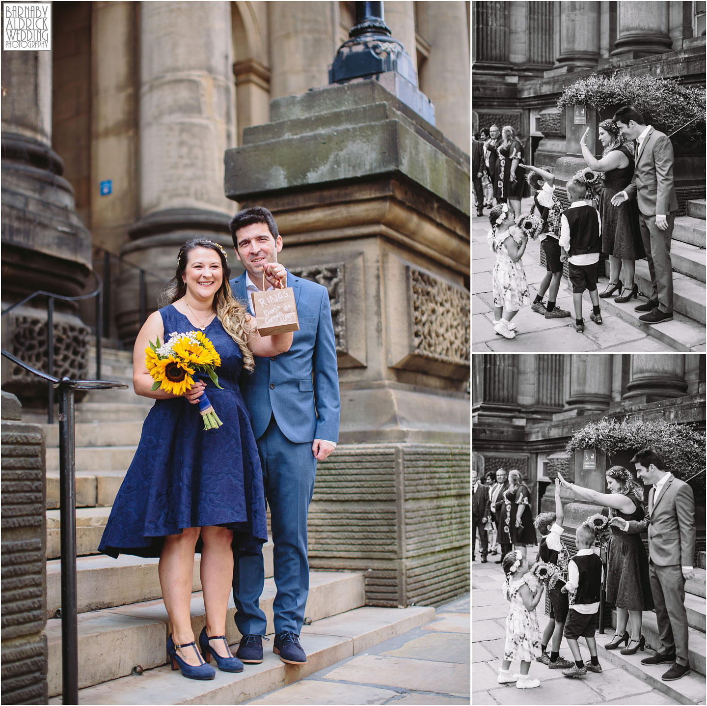 Wedding Photos at Leeds Town Hall