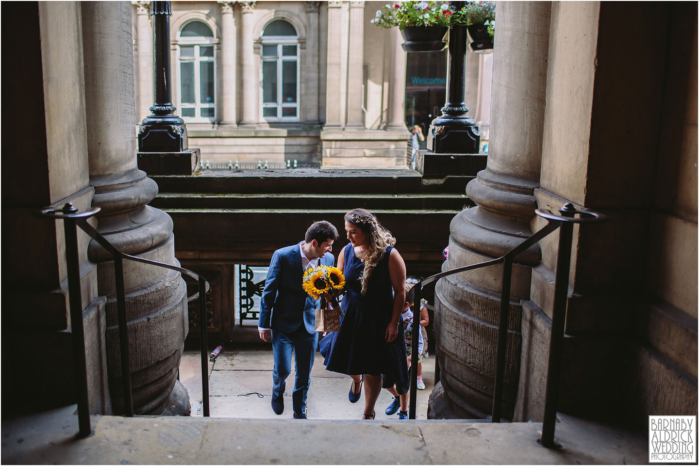 Wedding Photo at Leeds Town Hall