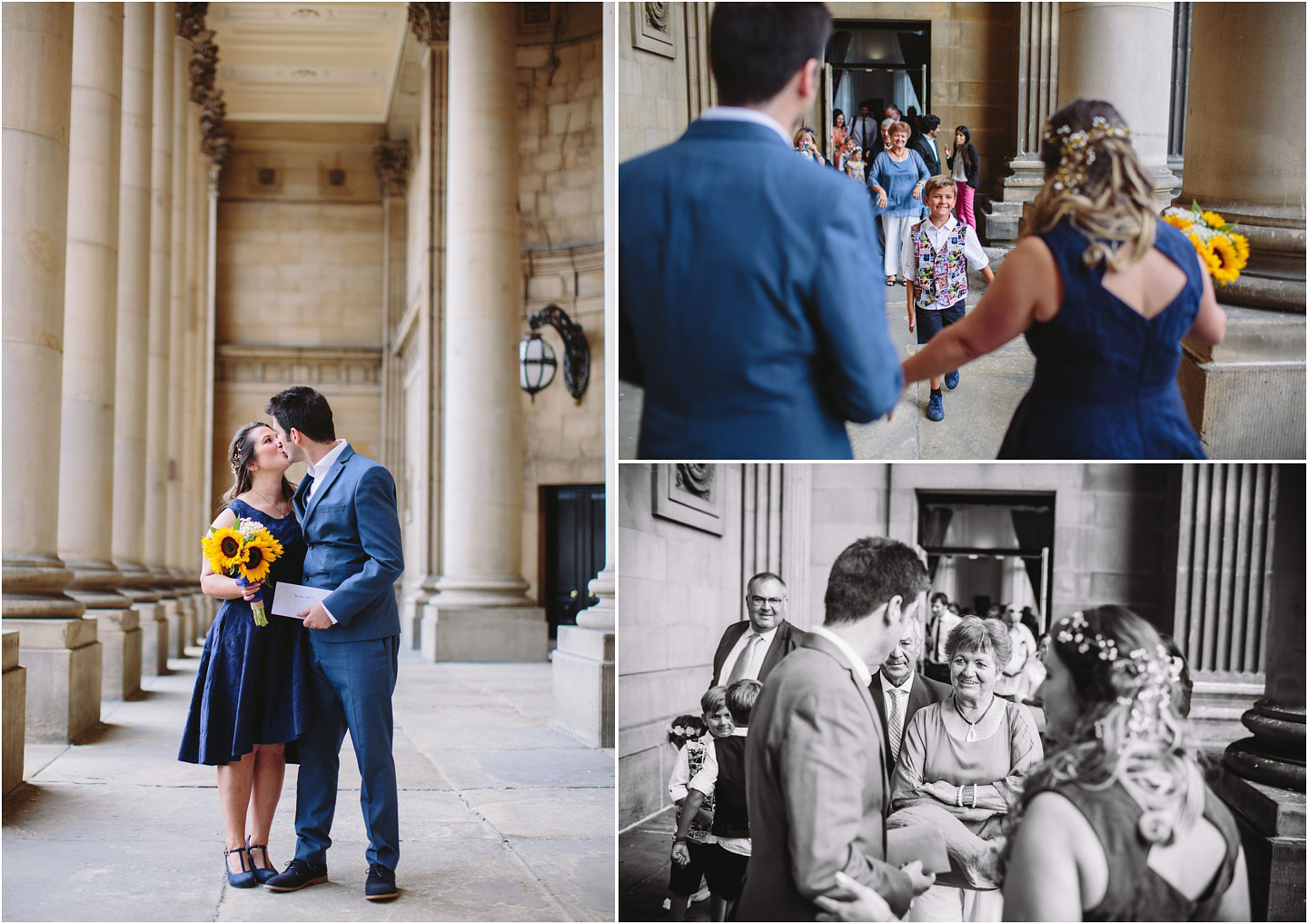 Civil ceremony Photographs at Leeds Town Hall