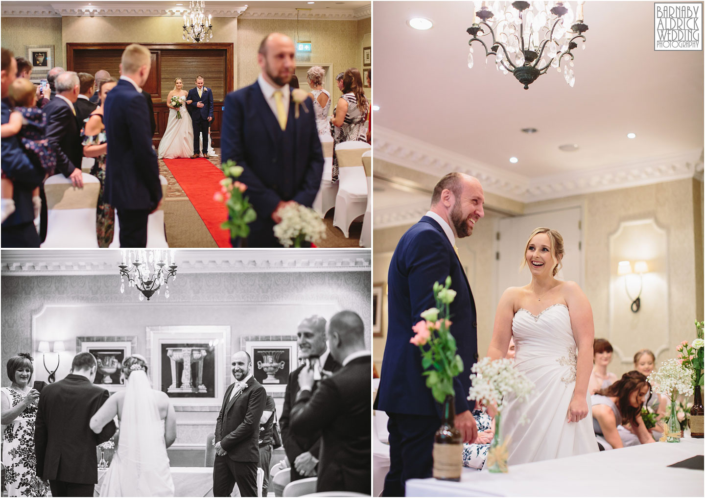 Wood Hall Hotel Wetherby civil ceremony photos, Wood Hall Wedding Photos, Wood Hall Wedding Photographer