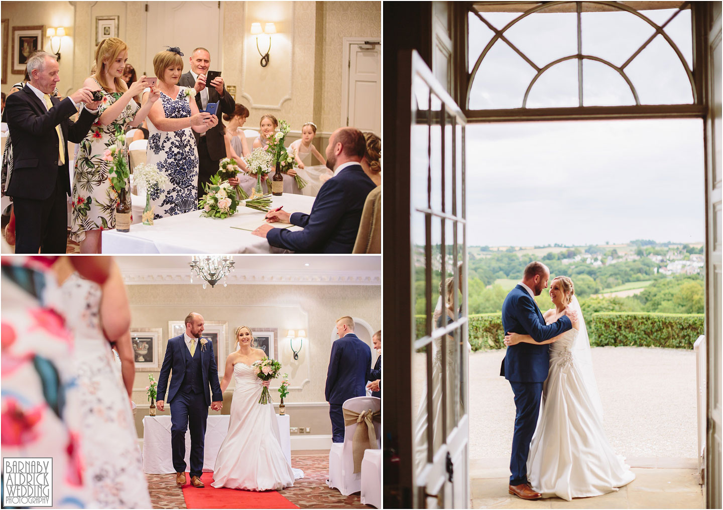 Wood Hall Hotel Wetherby ceremony images, Wood Hall Wedding Photos, Wood Hall Wedding Photographer
