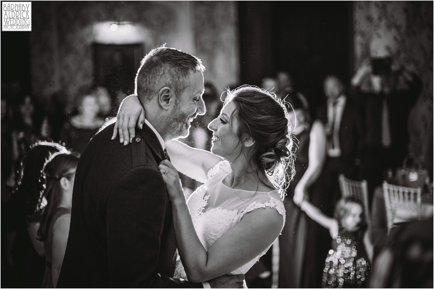 First dance at a wedding at Rowton Caste, Shropshire Wedding Photographer, Shrewsbury wedding venue, Amazing UK Castle Wedding