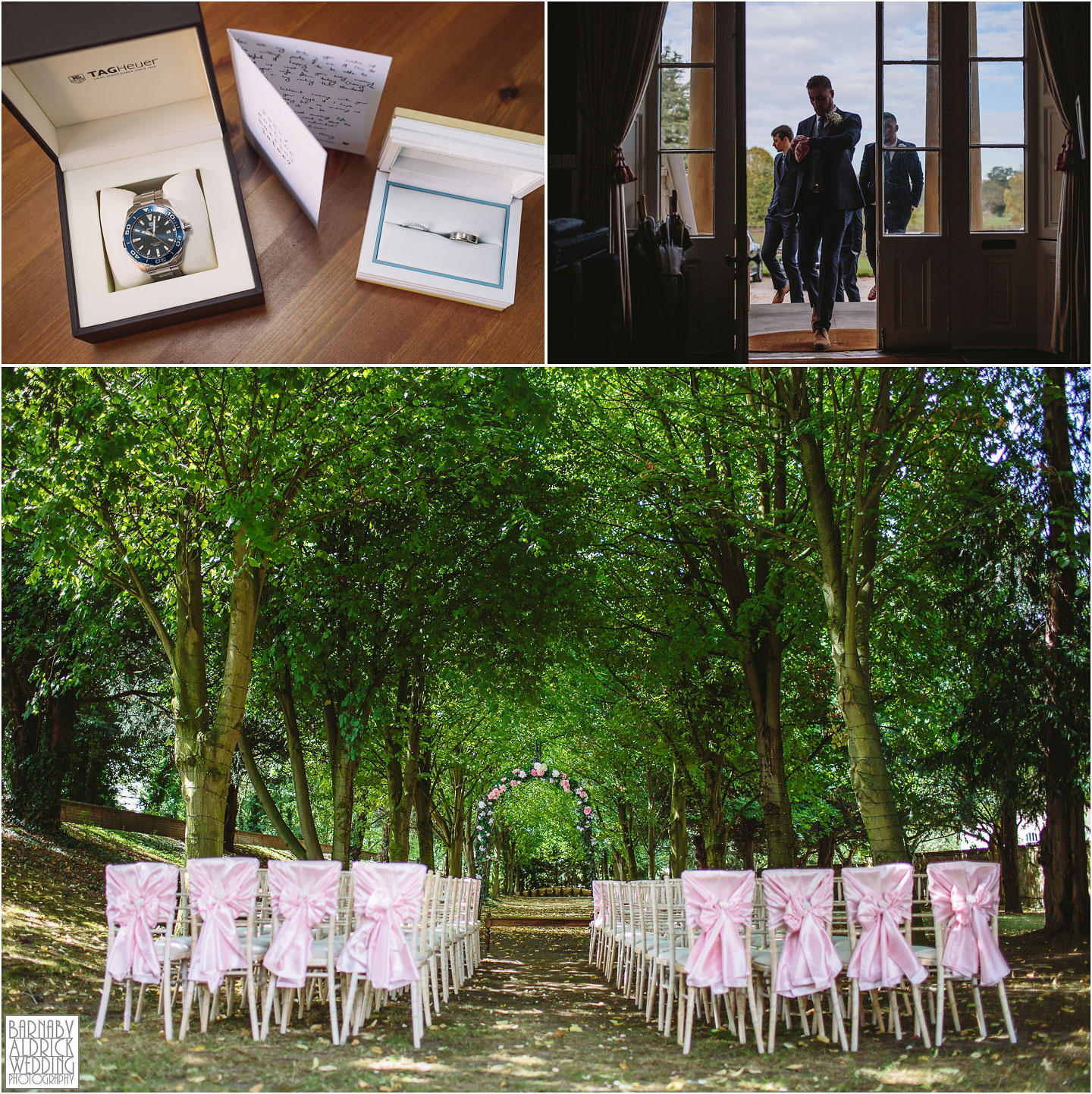 Sapphire Wedding ceremony in Yorkshire, Outdoor ceremony venue Saltmarshe Hall near Goole in East Yorkshire, Wedding photography at Saltmarshe Hall, East Yorkshire Wedding Photographer, sapphire Ceremonies in Yorkshire