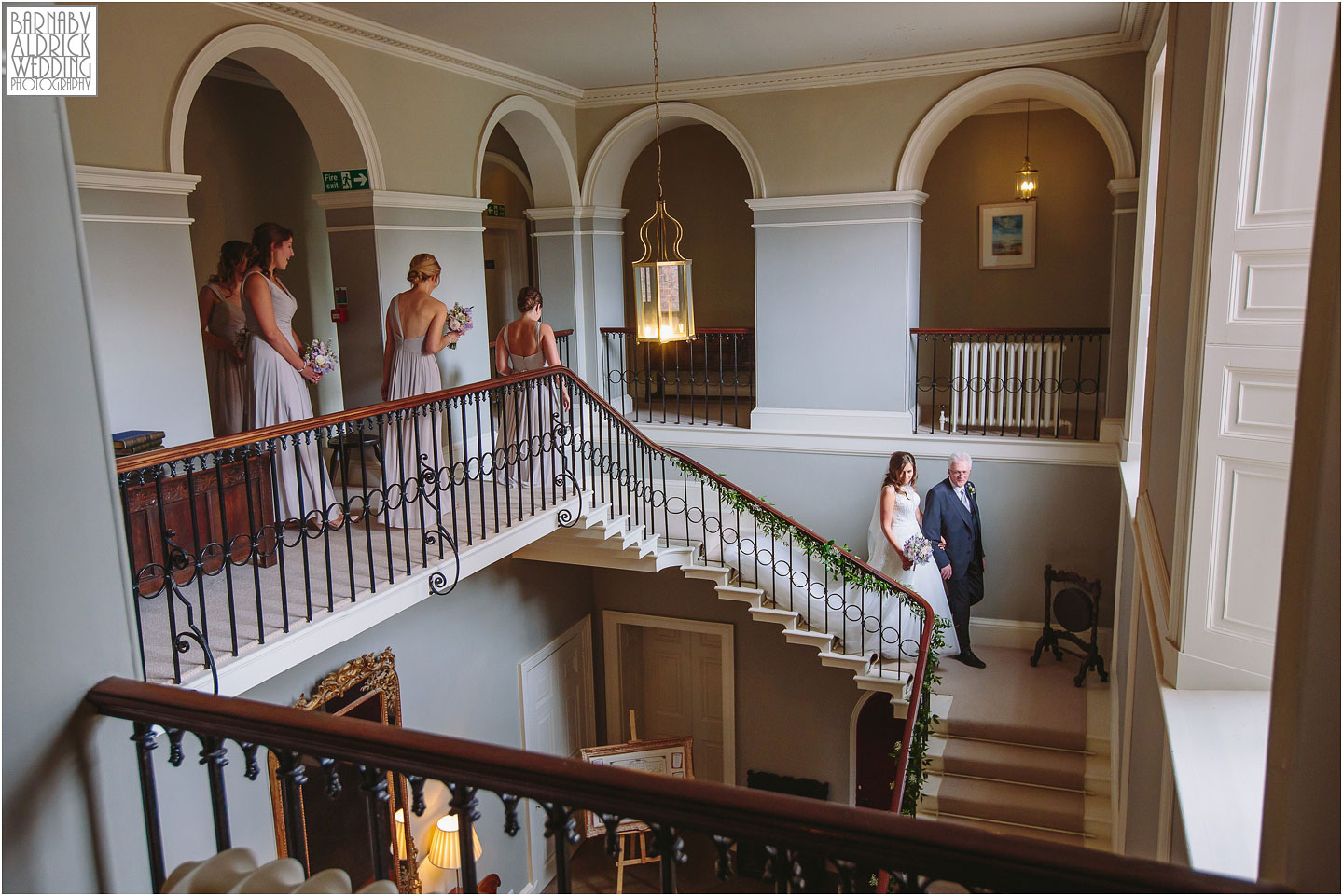 The wedding party head to the east riding civil ceremony at Saltmarshe Hall near Goole, Wedding photography at Saltmarshe Hall, East Yorkshire Wedding Photographer