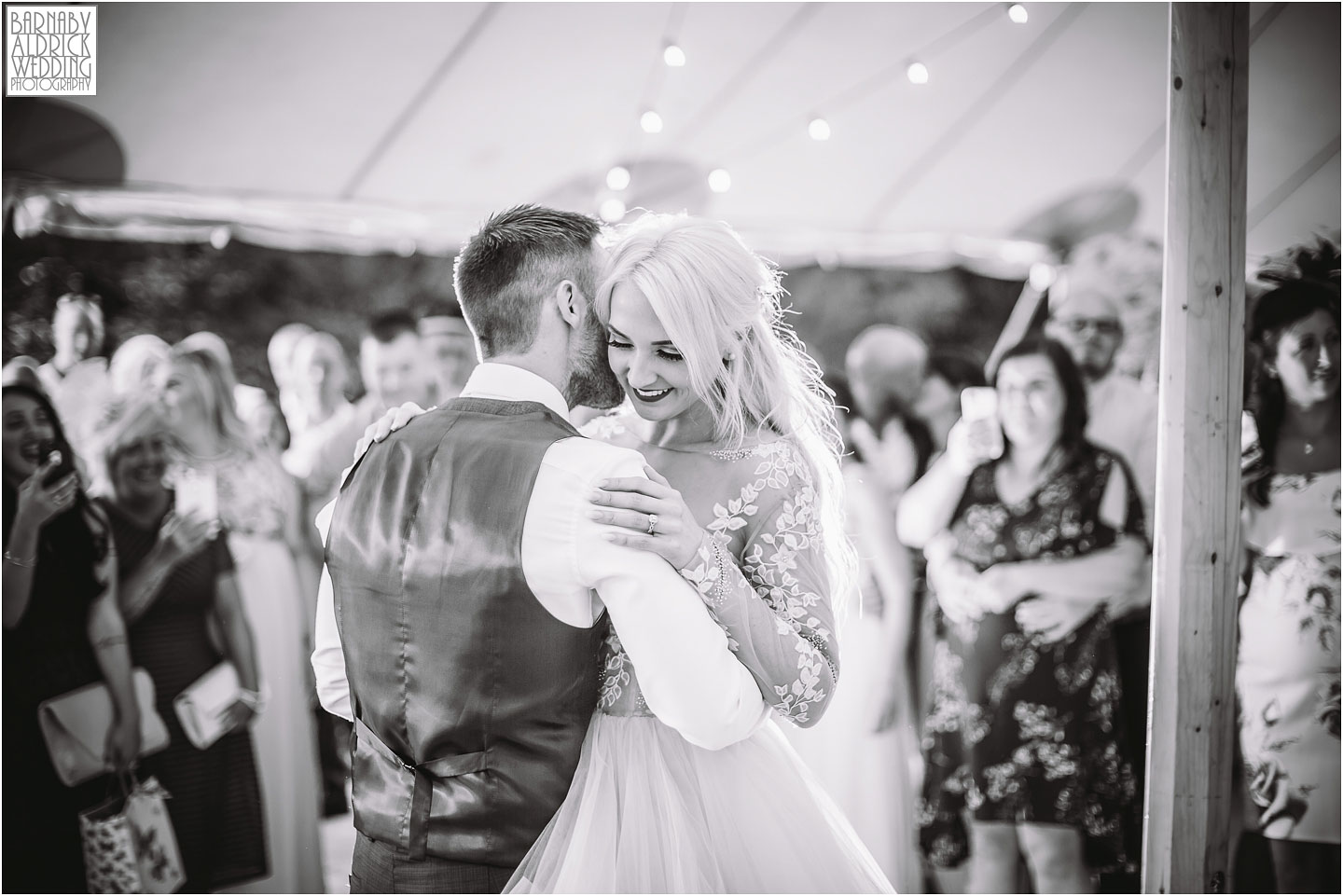 First Dance photos at Saltmarshe Hall near Goole in East Yorkshire, Wedding photography at Saltmarshe Hall, East Yorkshire Wedding Photographer Barnaby Aldrick