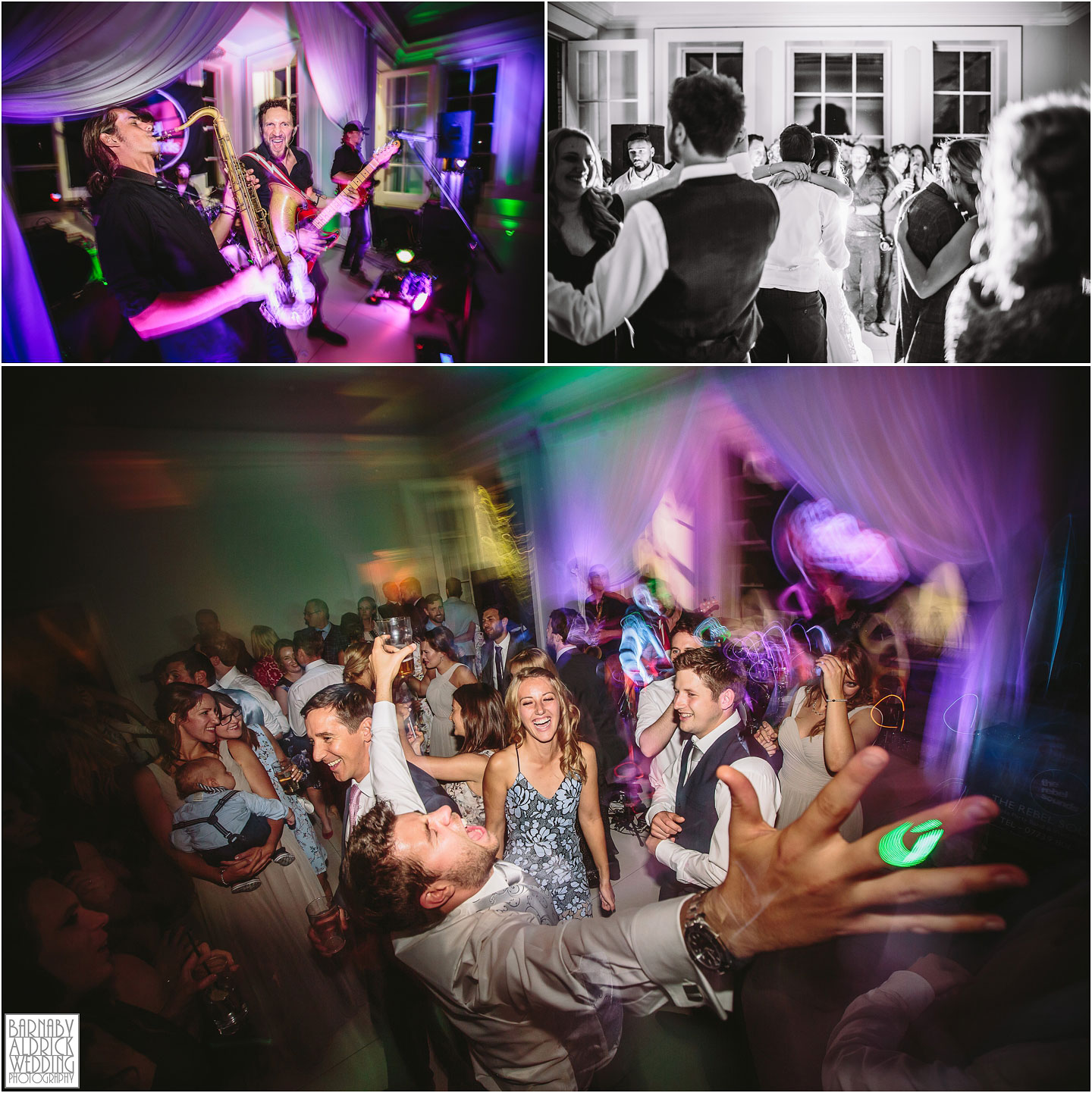 Evening Party Photos at Saltmarshe Hall near Goole in East Yorkshire, Wedding photography at Saltmarshe Hall, East Yorkshire Wedding Photographer Barnaby Aldrick