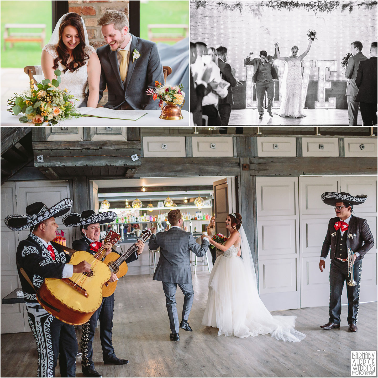 Mariachi band, Wedding at Yorkshire Wedding Barns, Amazing Yorkshire Wedding Photos, Best Yorkshire Wedding Photos 2018