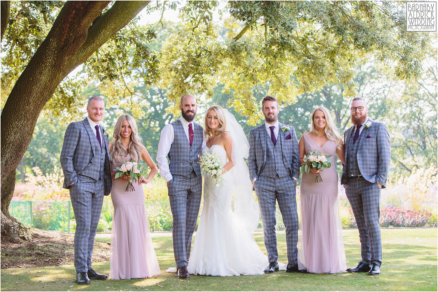 Beautiful Group wedding photo at Bowcliffe Hall, Amazing Yorkshire Wedding Photos, Best Yorkshire Wedding Photos 2018