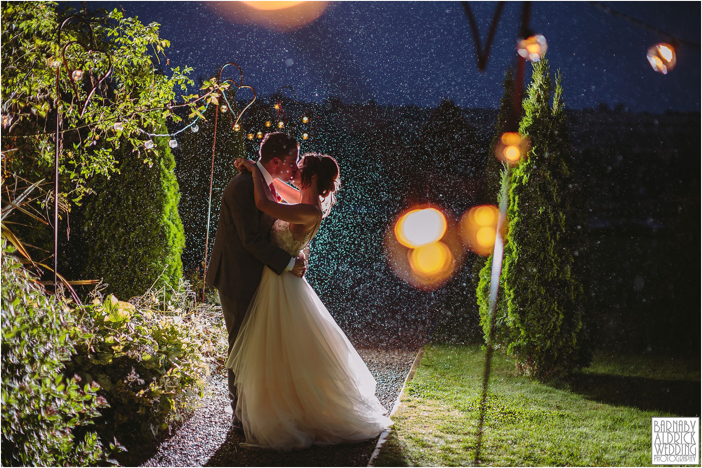 Yorkshire Wedding Barns Amazing wedding photo in the rain, Amazing Yorkshire Wedding Photos, Best Yorkshire Wedding Photos 2018