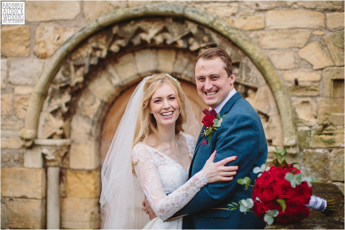 Couple Portraits at the Priory in Wetherby, Priory Cottages Barn Wedding Venue Photos, Yorkshire Barn Venue Photos