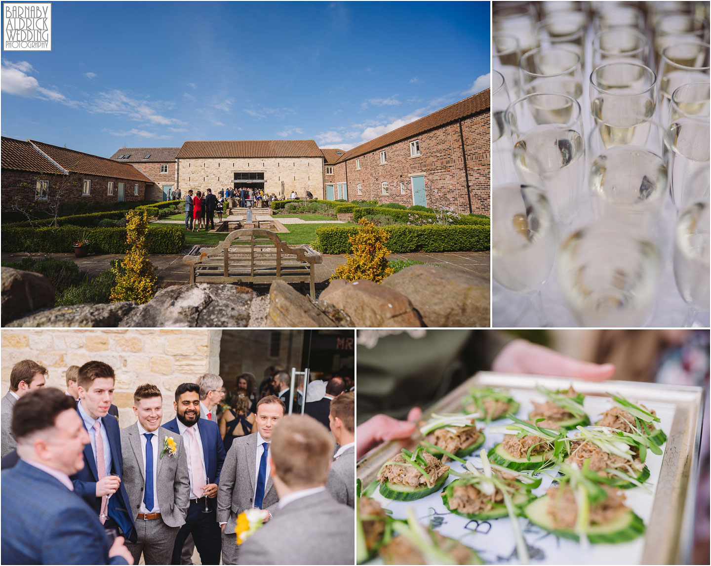 Blakefields Caterer at Yorkshire barn wedding, Yorkshire caterers Blakefields