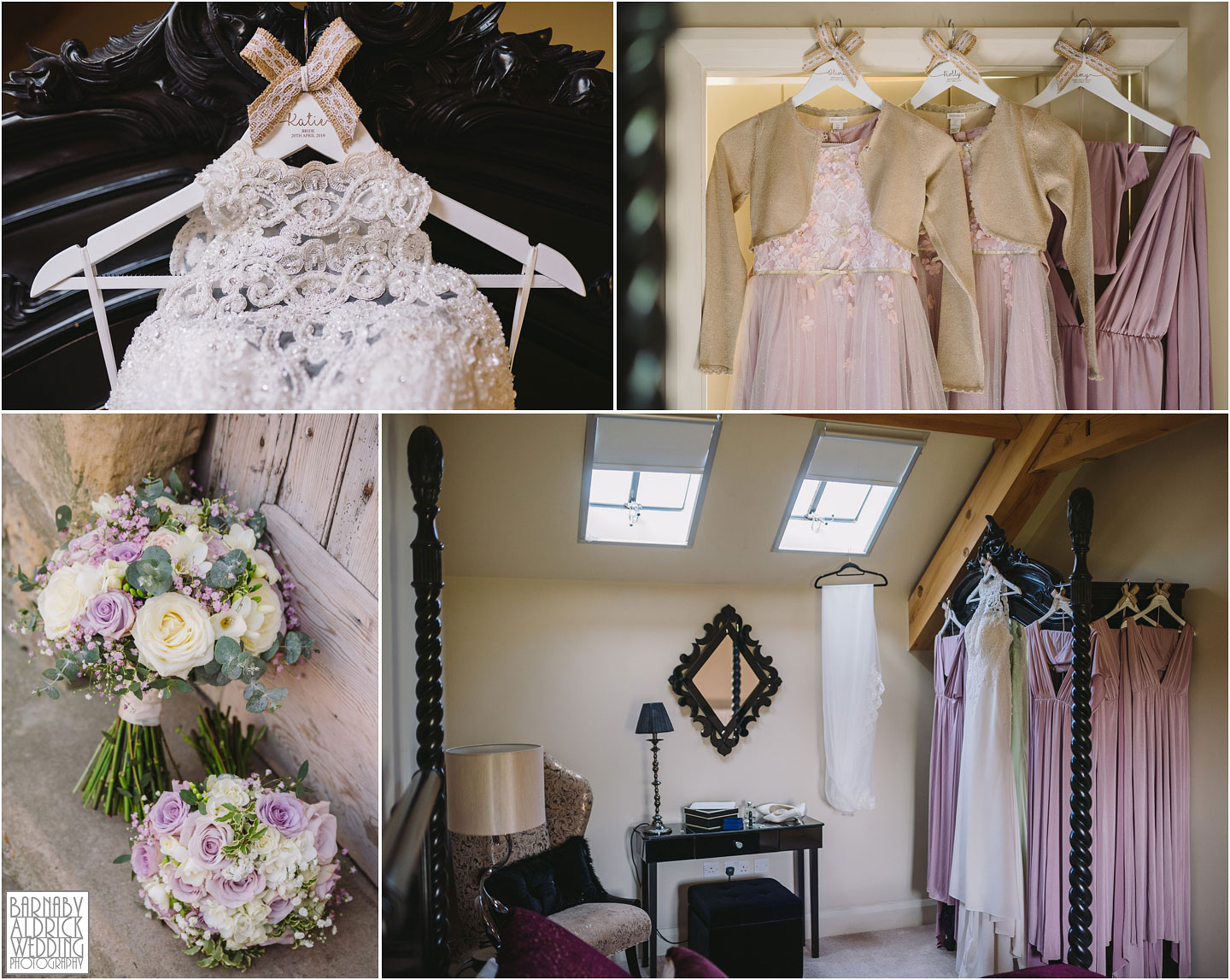 Ronald Joyce wedding gown at Priory Cottages