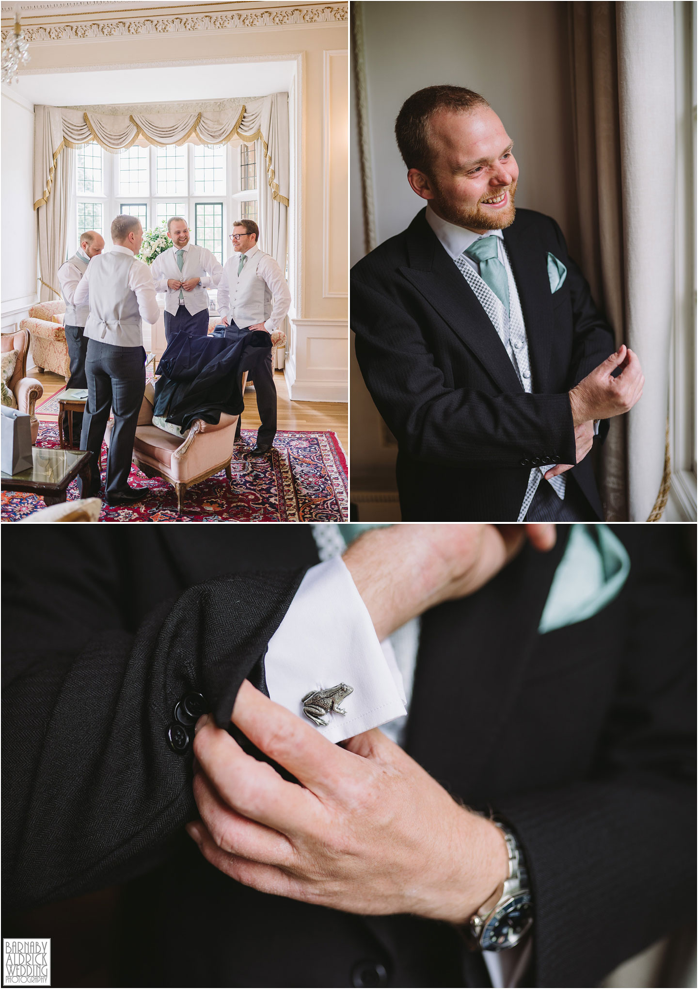 Grooms preparations at Goldsborough Hall Wedding Photos, Goldsborough Hall Wedding Photography, Yorkshire Wedding, Yorkshire Wedding Photographer, Knaresborough Wedding, Harrogate wedding venue, Yorkshire Stately House Wedding