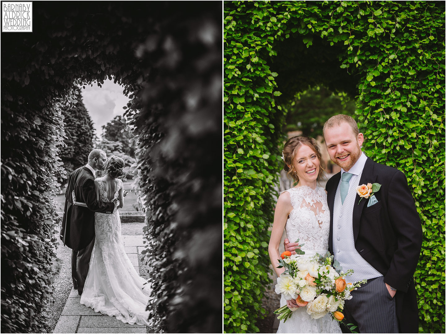 Bride and groom at Goldsborough Hall, Goldsborough Hall Wedding Photography, Yorkshire Wedding, Yorkshire Wedding Photographer, Knaresborough Wedding, Harrogate wedding venue, Yorkshire Stately House Wedding