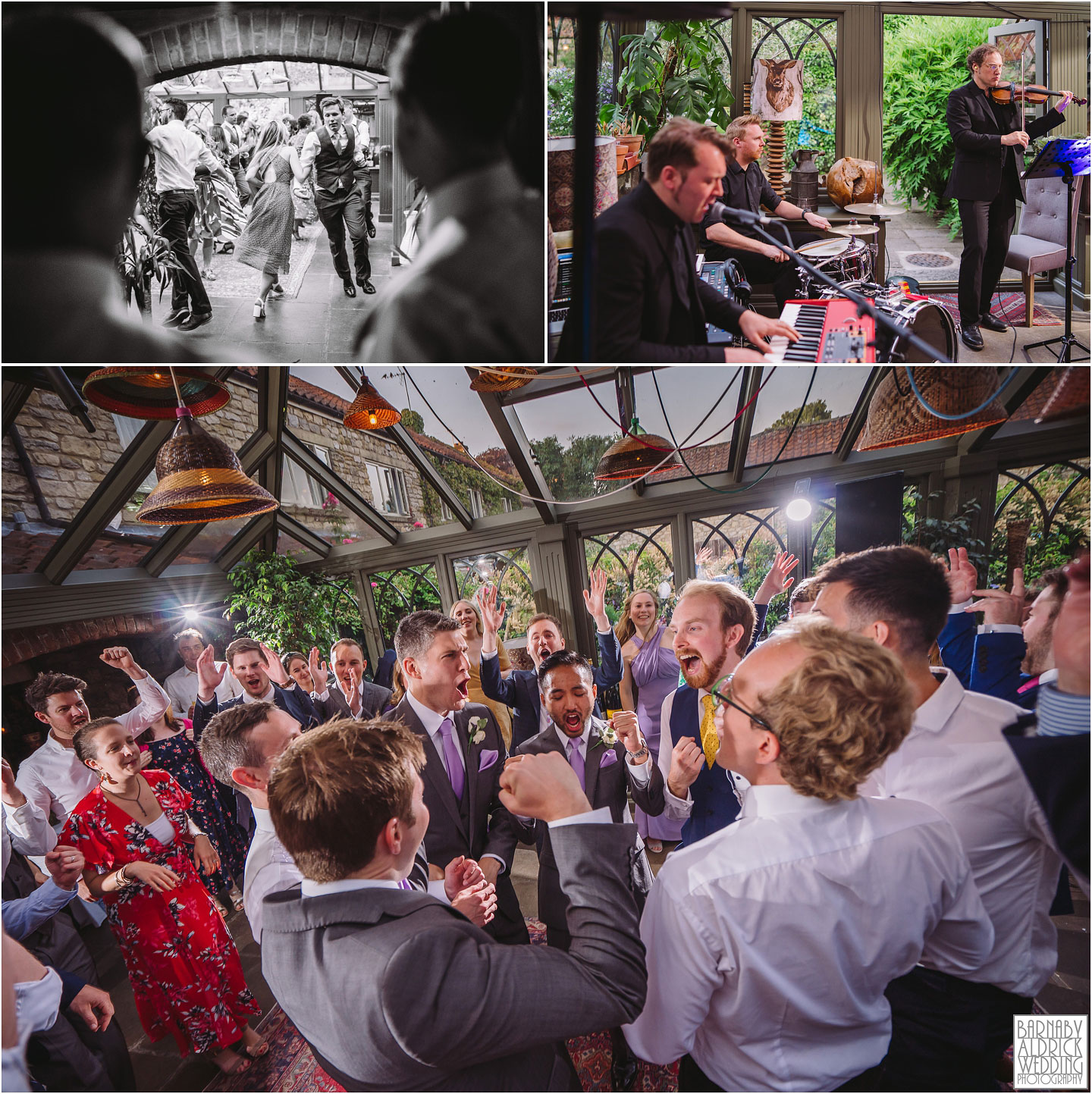 Triple Scotch wedding ceilidh band at The Pheasant Hotel Harome, The Pheasant Hotel Wedding Helmsley, Wedding Photography at The Pheasant Hotel North Yorkshire, North Yorkshire Wedding Photographer