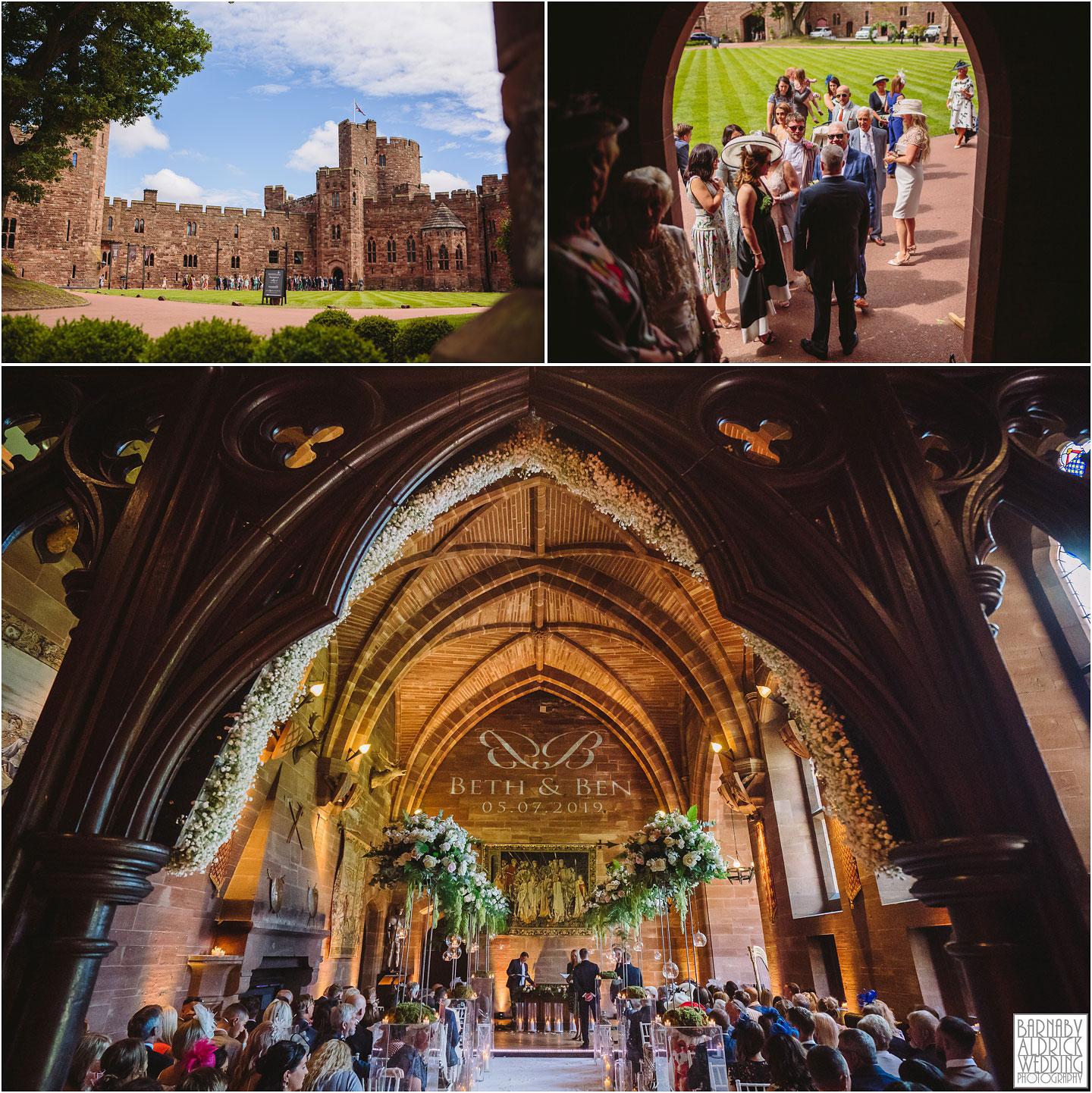 Civil ceremony at Peckforton Castle Wedding Photos, Cheshire Wedding Photography at Peckforton Castle, Peckforton Castle Wedding, UK Castle Wedding