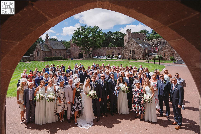 Peckforton Castle Wedding group Photos, Cheshire Wedding Photography at Peckforton Castle, Peckforton Castle Wedding, UK Castle Wedding