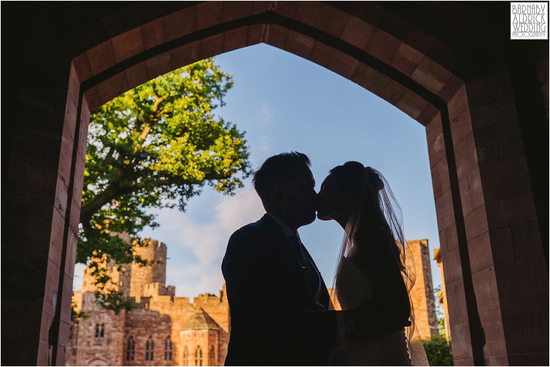 Sunset wedding photos at Peckforton Castle, Cheshire Wedding Photography at Peckforton Castle, Peckforton Castle Wedding, UK Castle Wedding