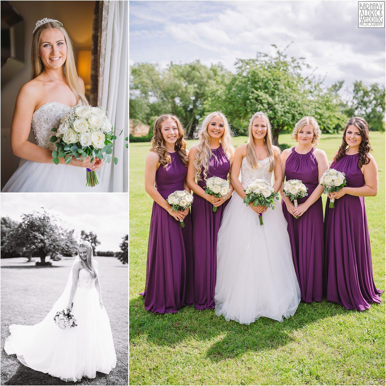Bridal portrait, Wedding photo, priory cottages yorkshire, bride