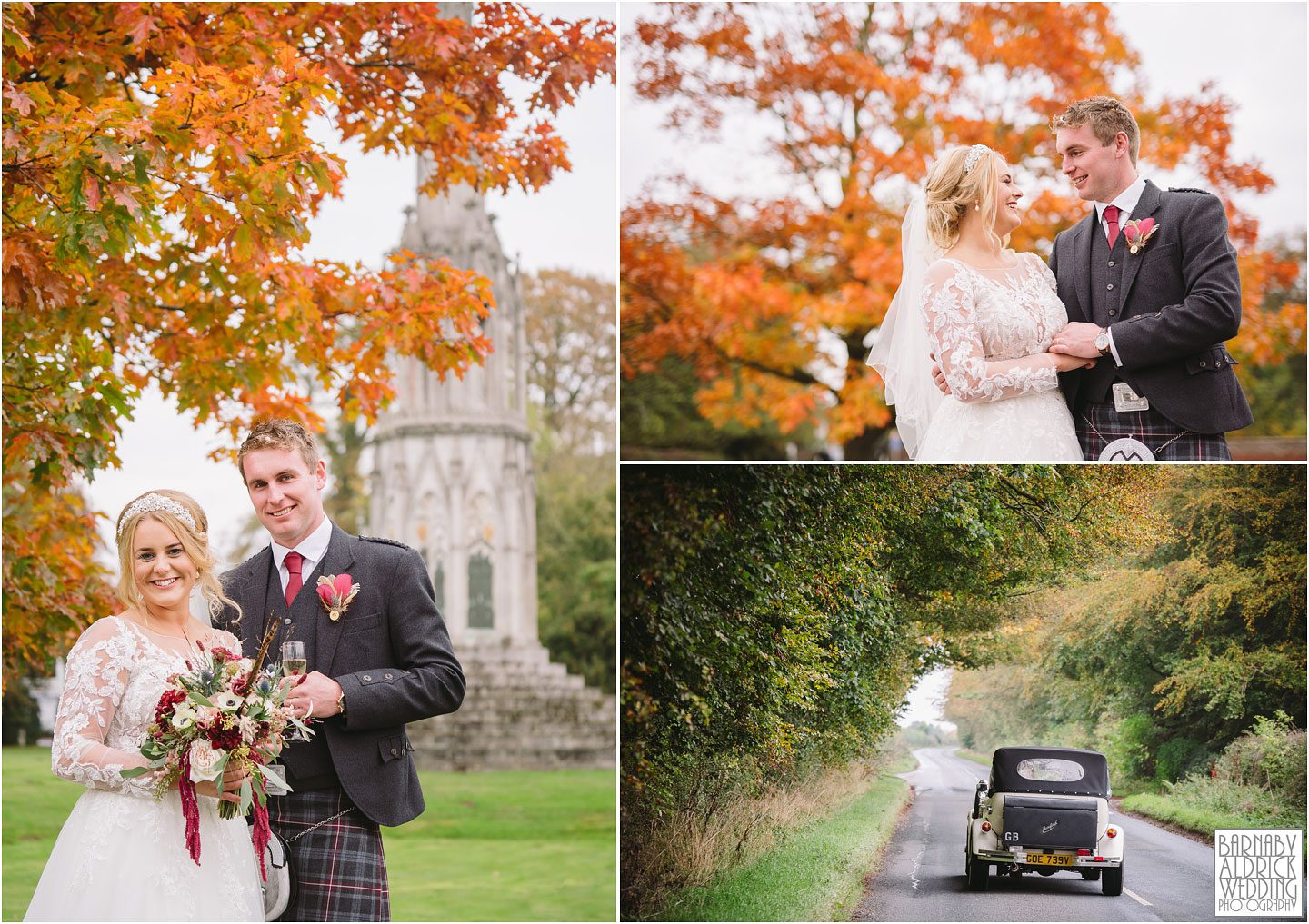 Sledmere yorkshire wedding,