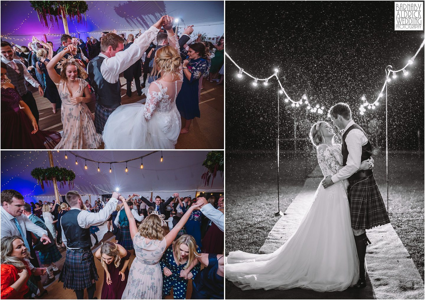 Yorkshire cèilidh scottish wedding dancing