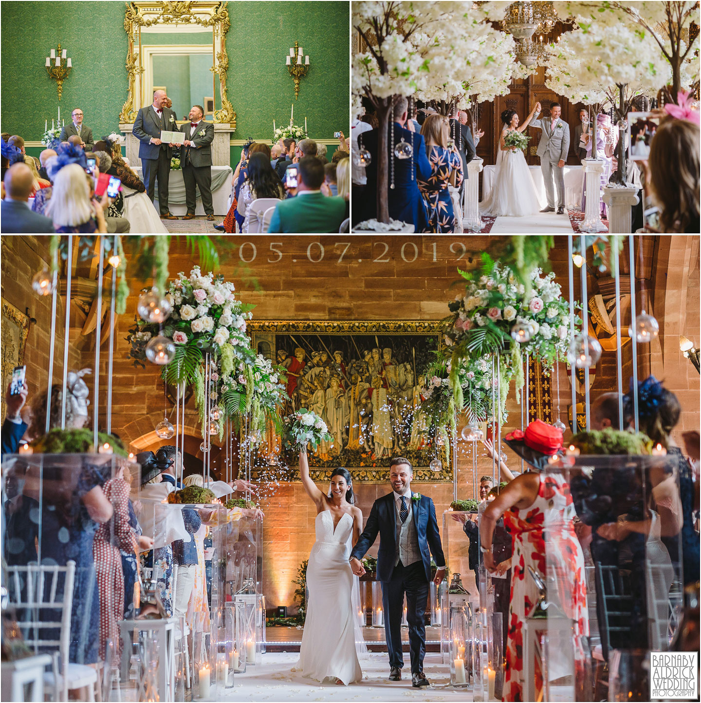 Cutlers Hall wedding, Carlton Towers wedding, Peckforton Castle Wedding