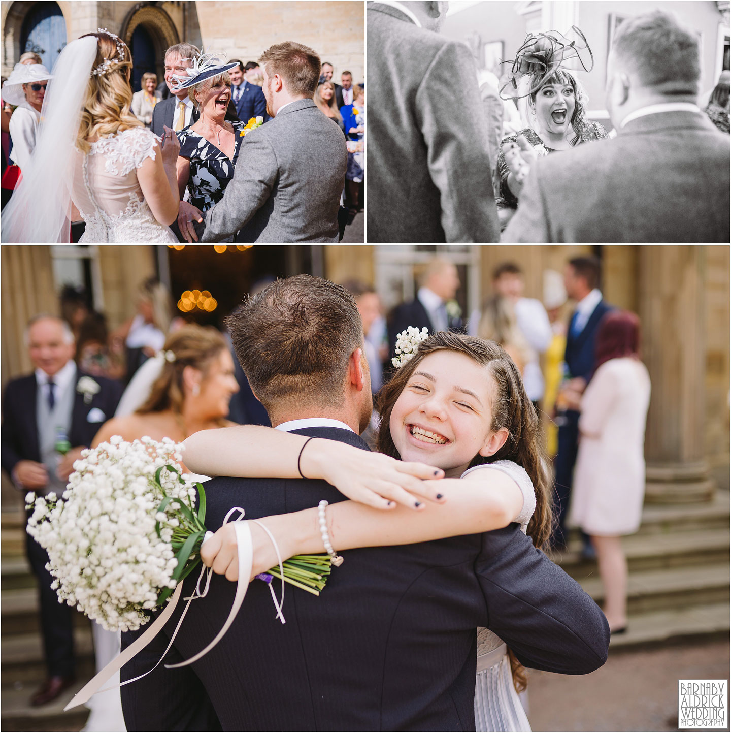 Oulton Hall documentary wedding photo