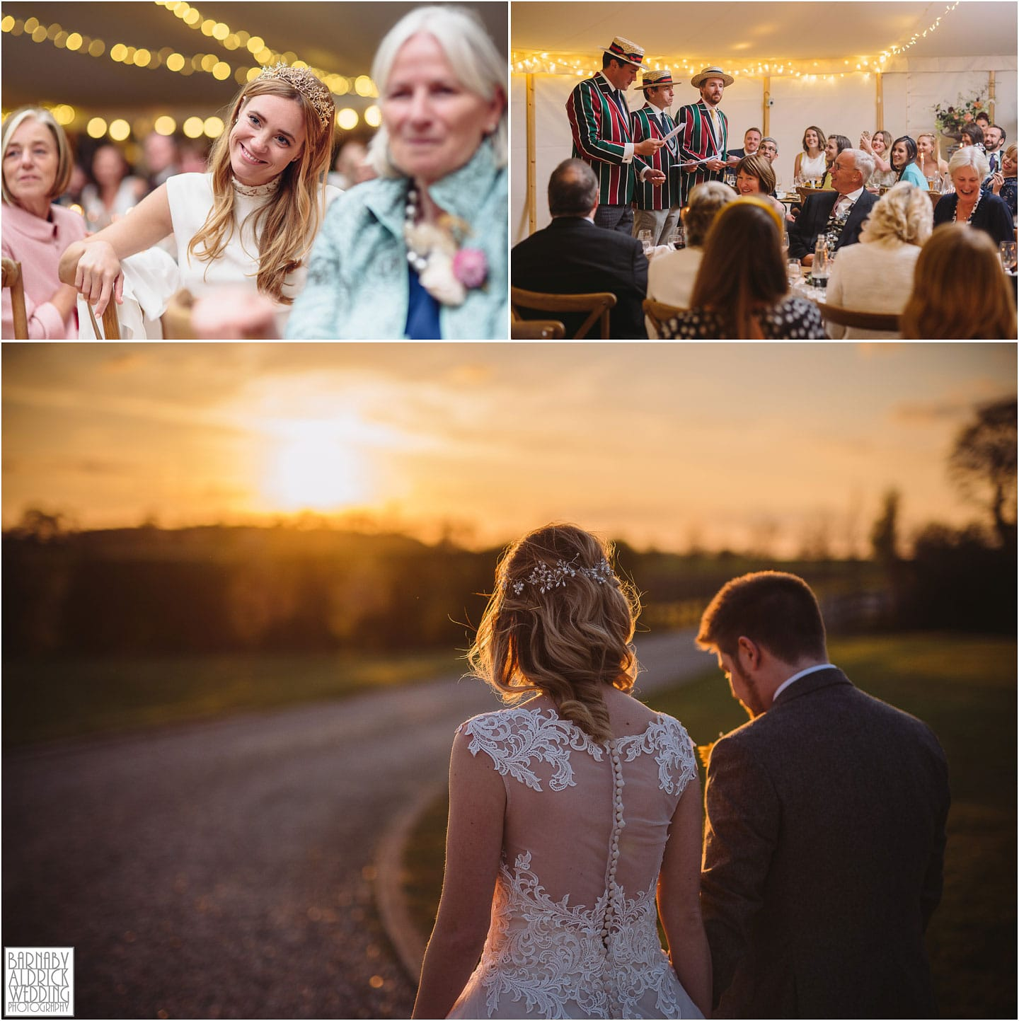 Golden Hour portraits at Priory Cottages in Yorkshire