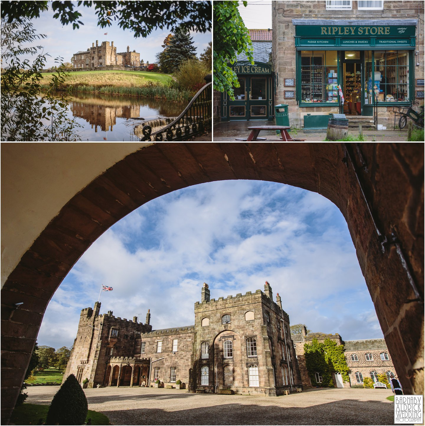 Ripley Castle Yorkshire Wedding Photographer