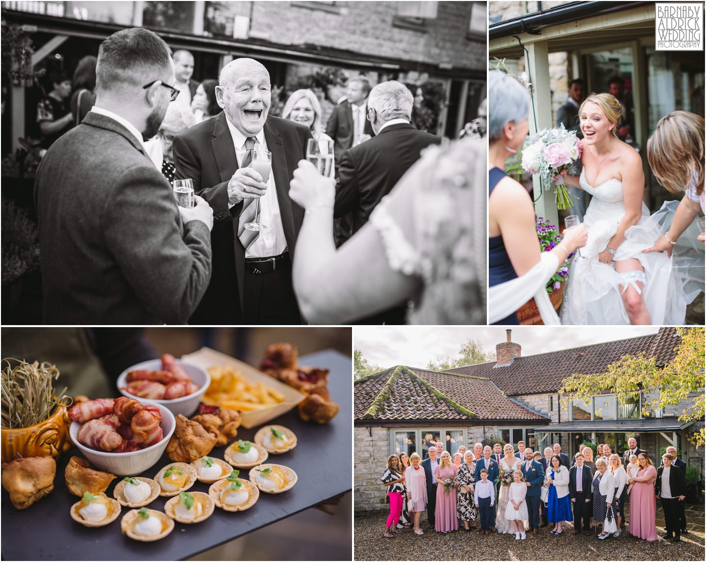 Star Inn wedding wedding reception Harome Yorkshire