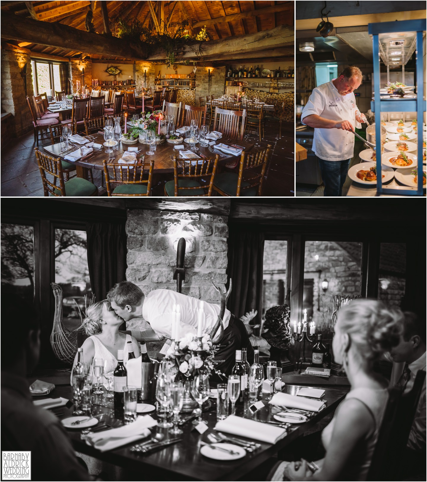 Michelin Star wedding venues Star Inn wheelhouse Harome Yorkshire