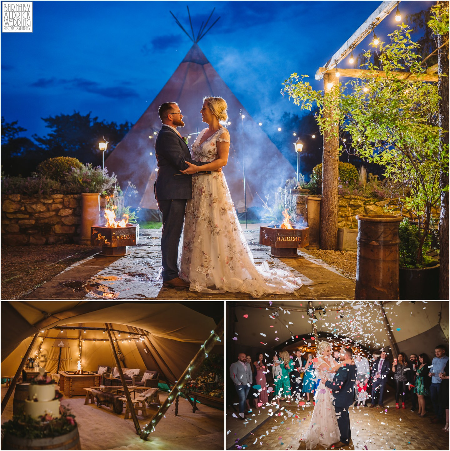 Star Inn Harome papakata reception tipi Yorkshire