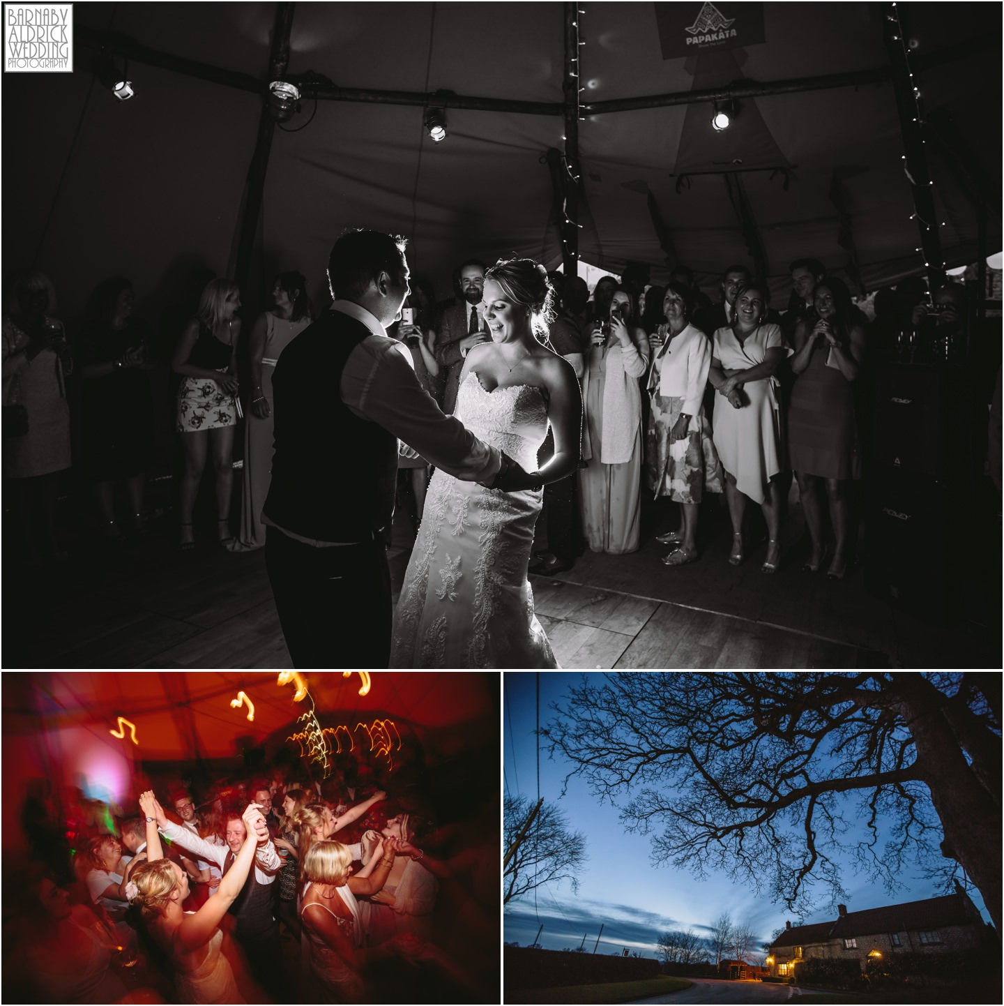 Star Inn tipi wedding photos Harome Yorkshire