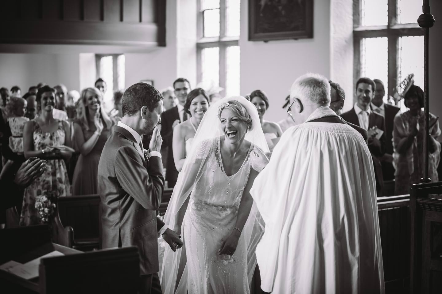 Yorkshire Church Wedding Ceremony Inn At Whitewell
