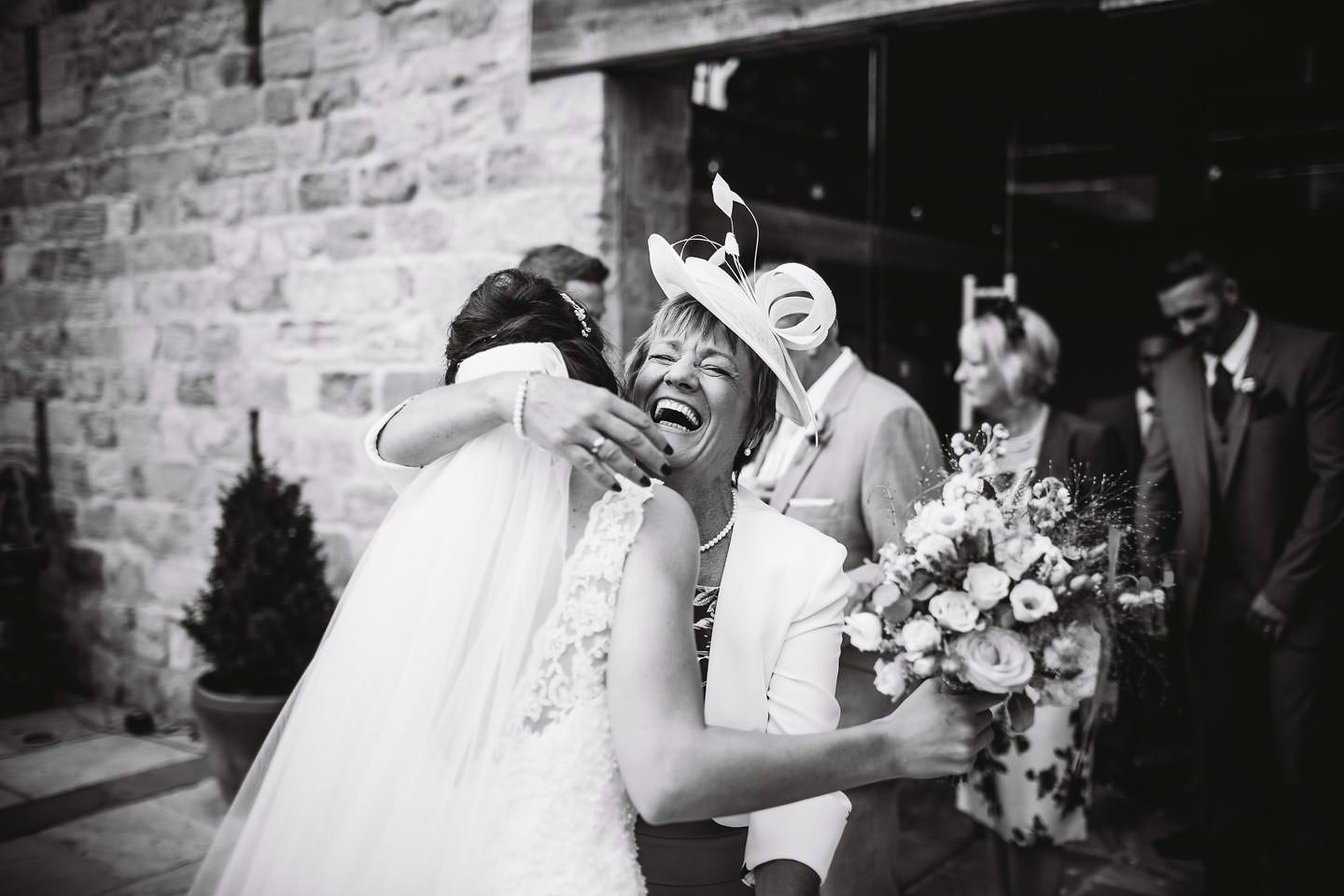 Relaxed Wedding Photographer Priory Cottages Yorkshire Barn