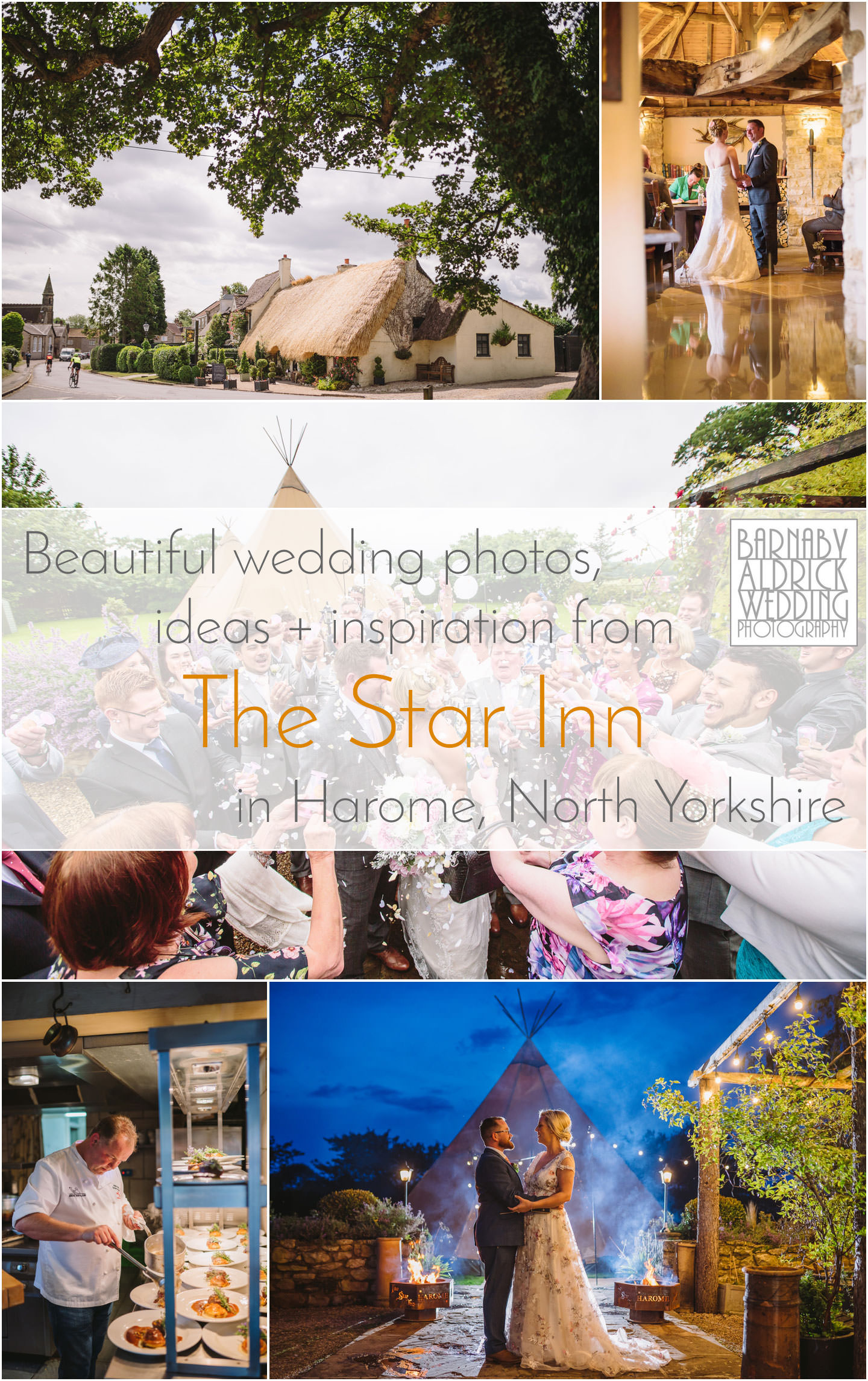 Star Inn Harome Helmsley wedding photographer