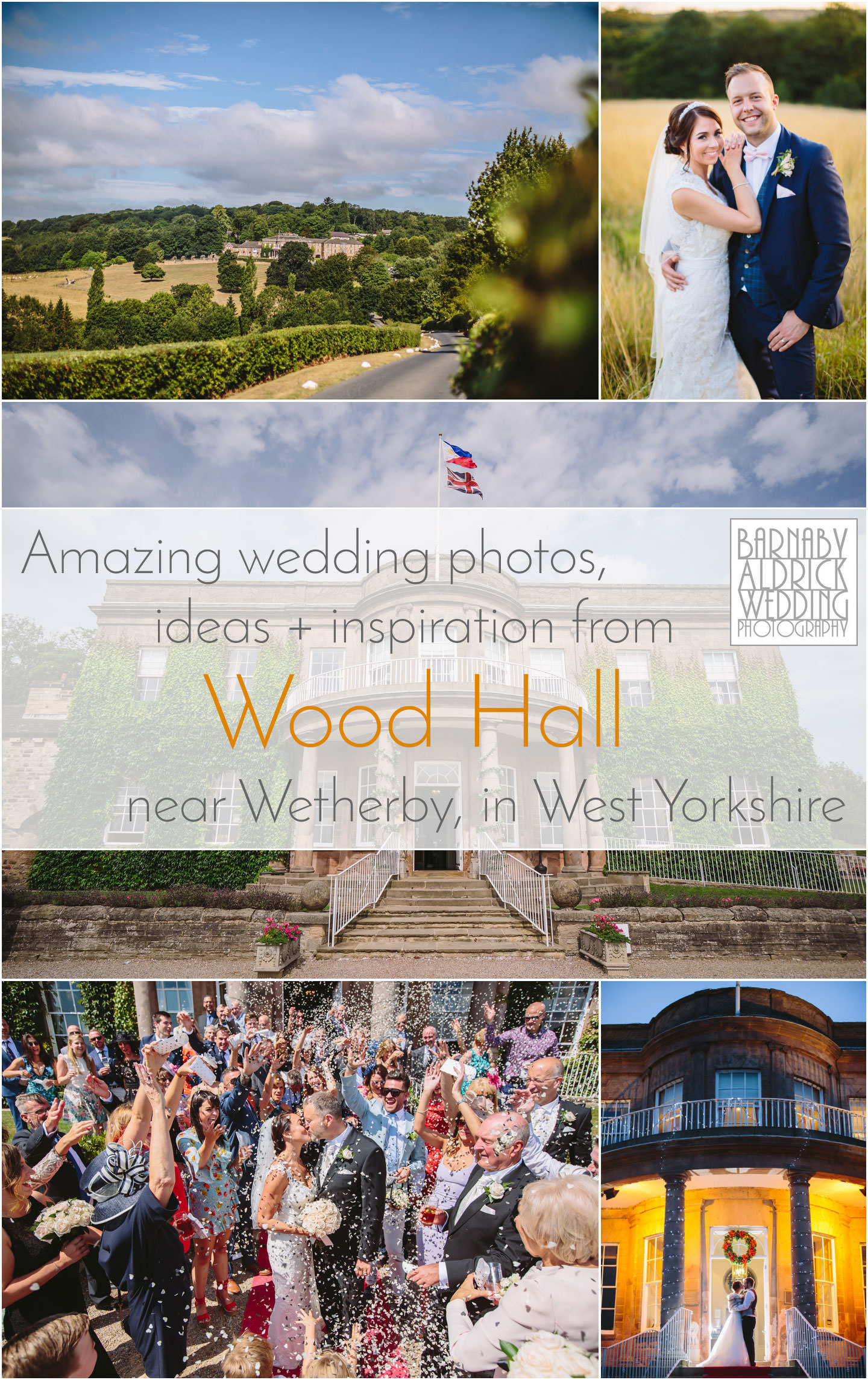Wood Hall Wetherby West Yorkshire Wedding Photographer