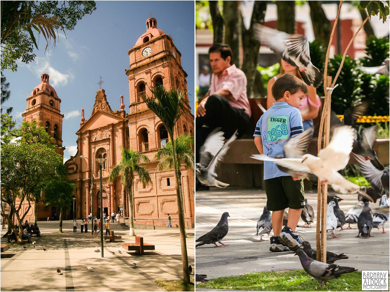 La Quiaca church square Bolivia