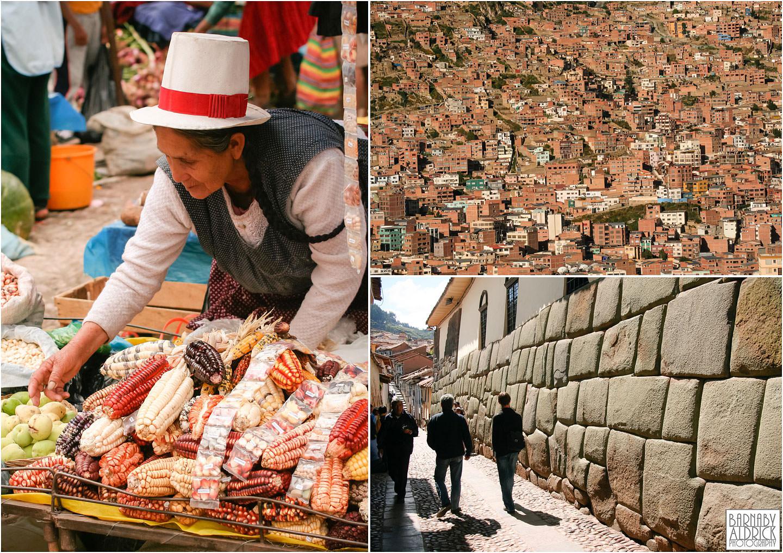 La Paz Bolivia, Cuzco Peru