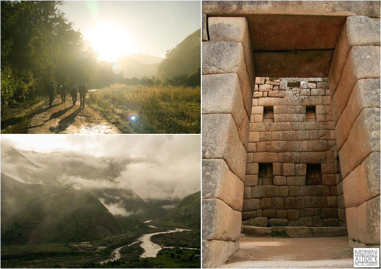 Machu Piccu trek, Inca trail, Inca Landscape Peru