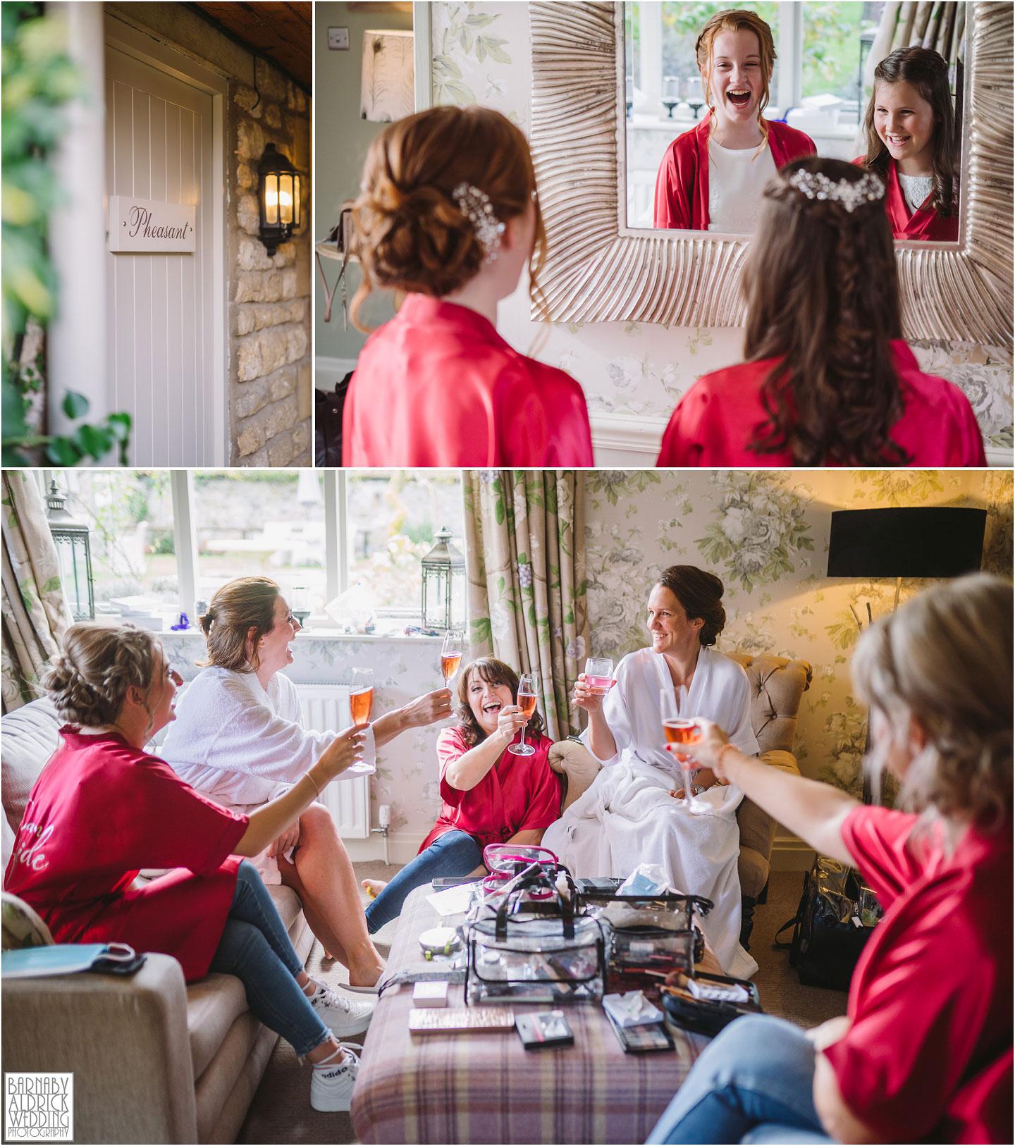 Bridal Preparations at The Pheasant Harome,
