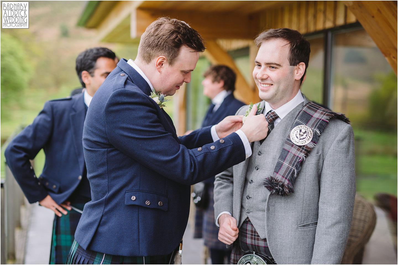 Groom's preparations, Kilt wedding, Thistle buttonhole, Carrick Castle Estate Lodge Wedding, Loch Goil Wedding photos, Argyll Forest Park Wedding Scotland, Scottish Wedding, Scottish Lockdown Wedding, Scottish Wedding